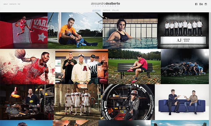 Alessandro Dealberto Fotografo sito web