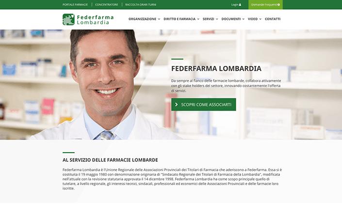Federfarma Lombardia Sito Web
