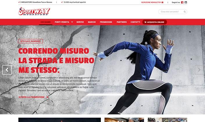 Sportway Megastore Sito web