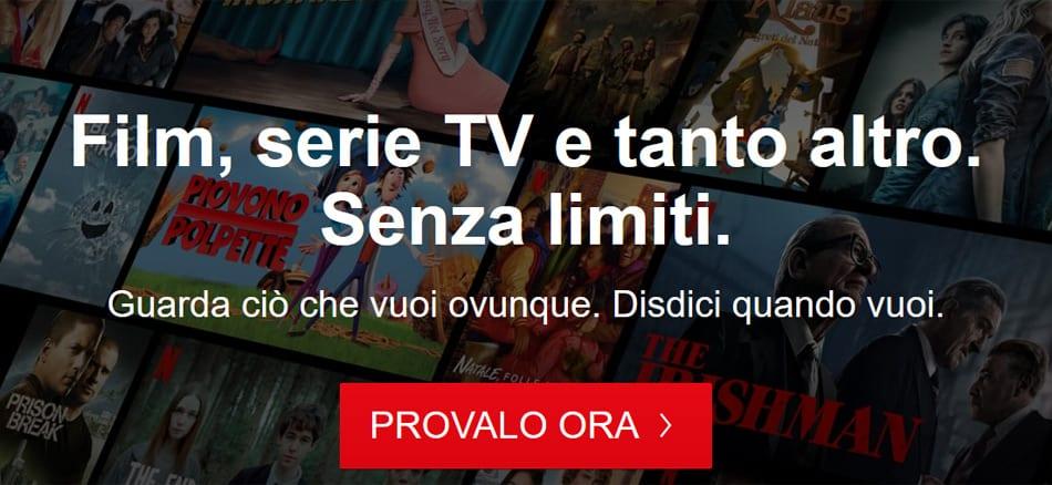 call to action perfetta Netflix