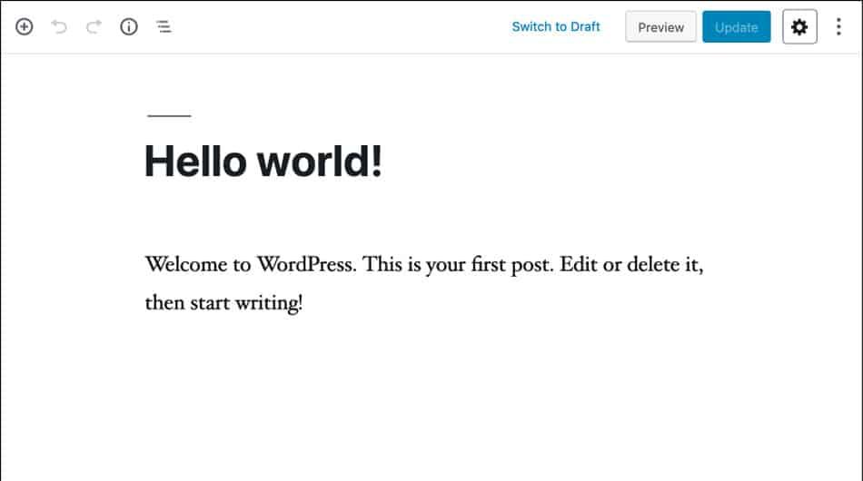 tema wordpress personalizzabile
